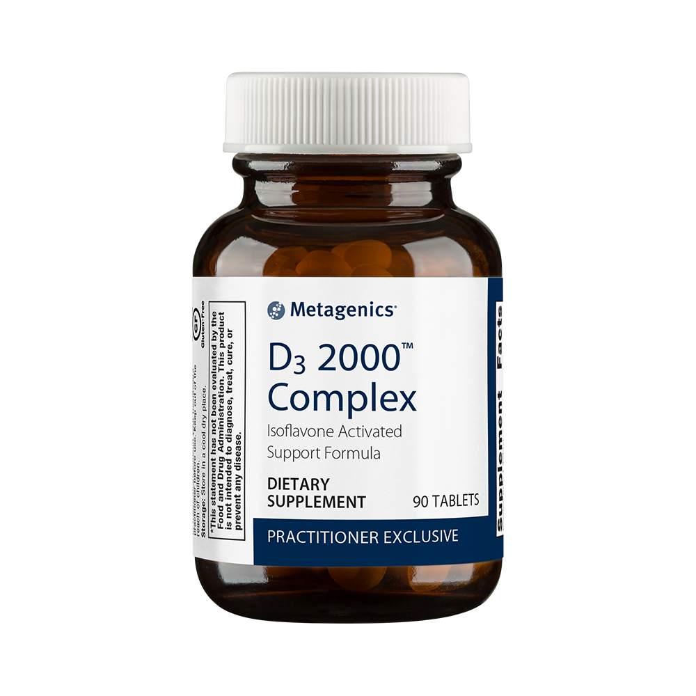 D3 2000 Complex health supplement from Metagenics.