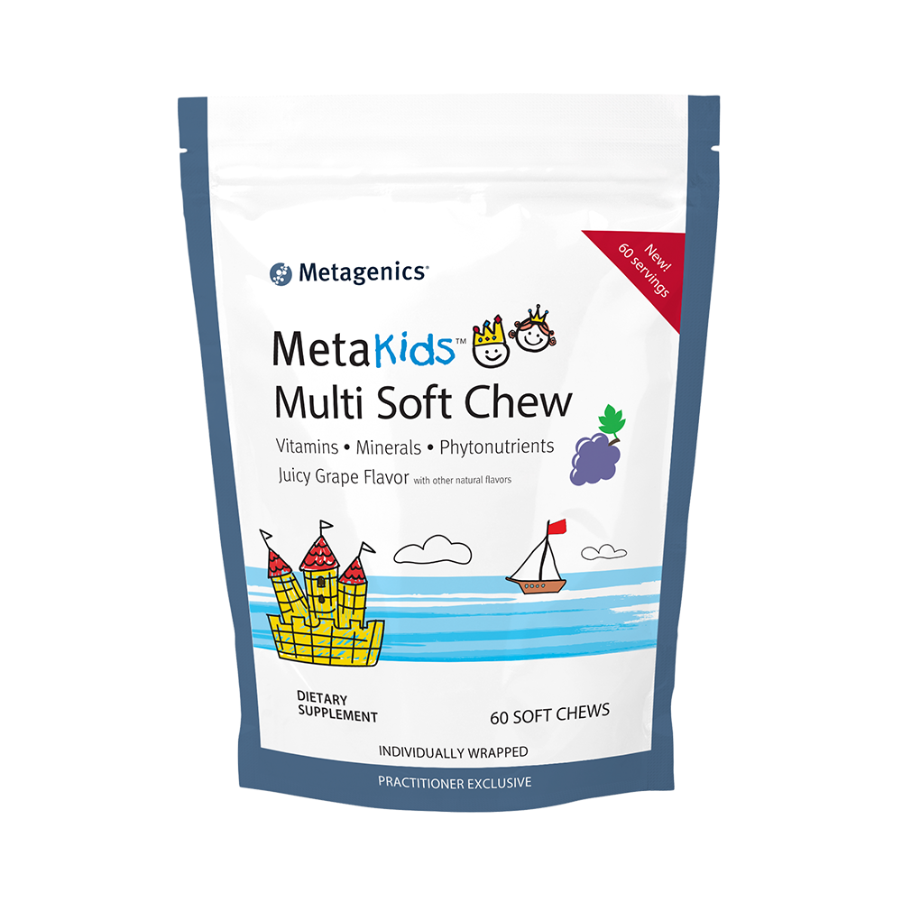 MetaKids Multi Soft Chew health supplement from Metagenics.