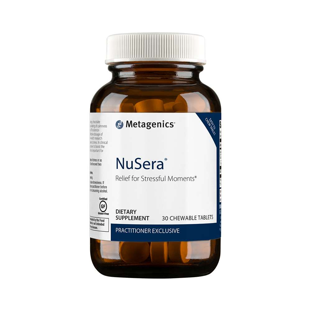 Supplements for stress relief, NuSera.