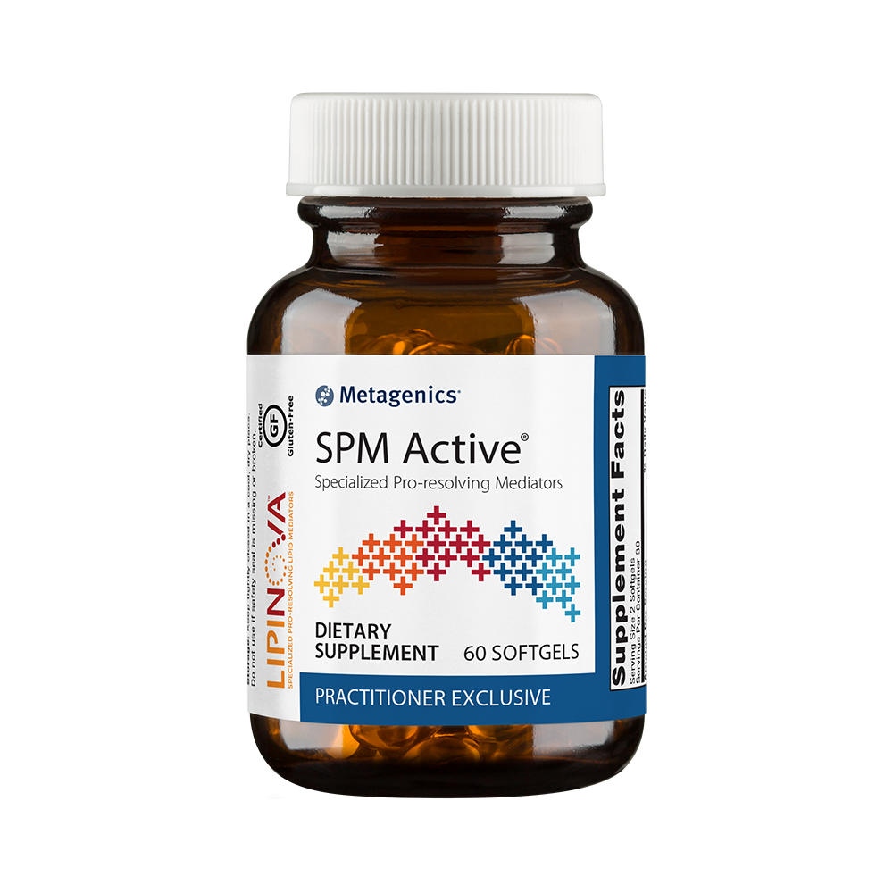 Metagenics SPM Active, a helpful supplement that improves inflammation.