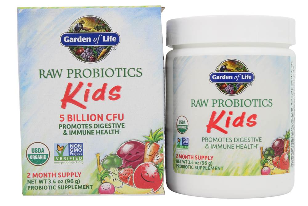 Garden of Life – RAW Probiotics Kids, an effective probiotic for kids.