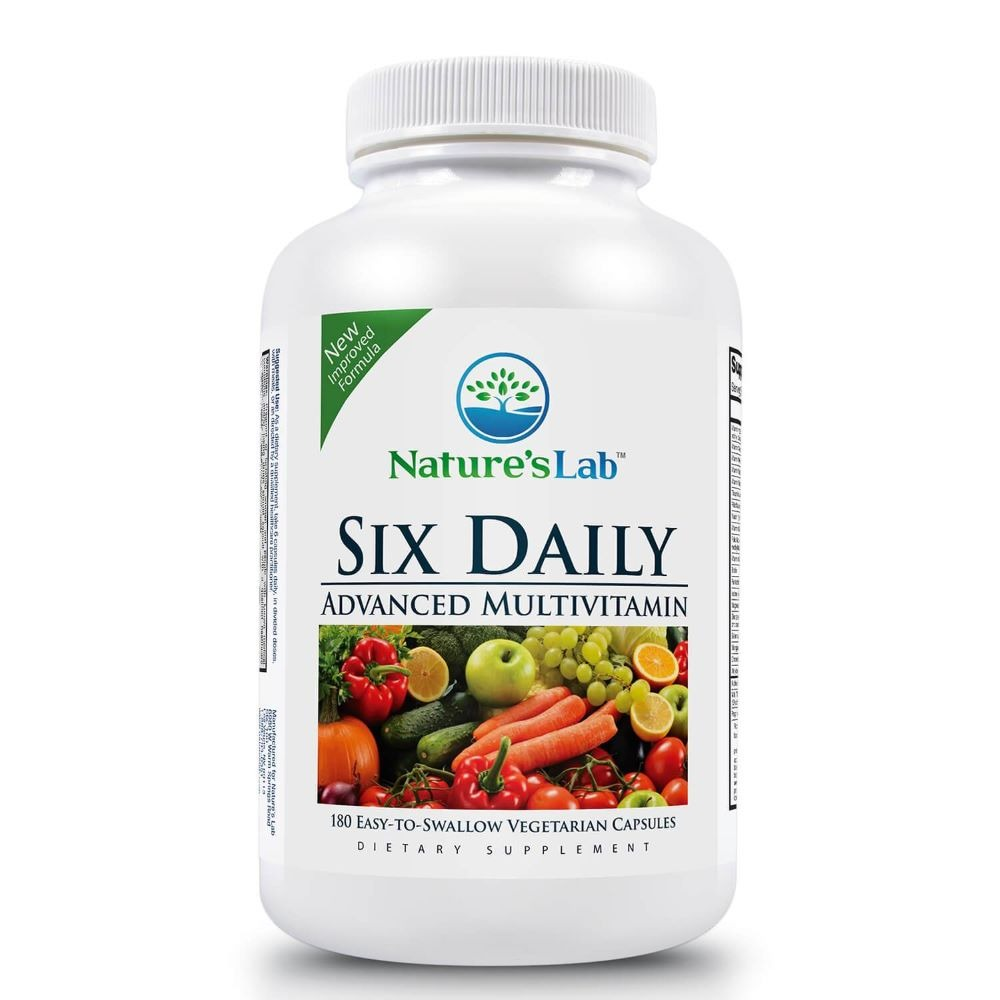 Nature's Lab Six Daily Advanced Multivitamin