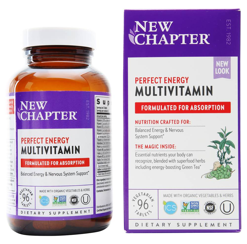 New Chapter Multivitamin – Perfect Energy Multivitamin