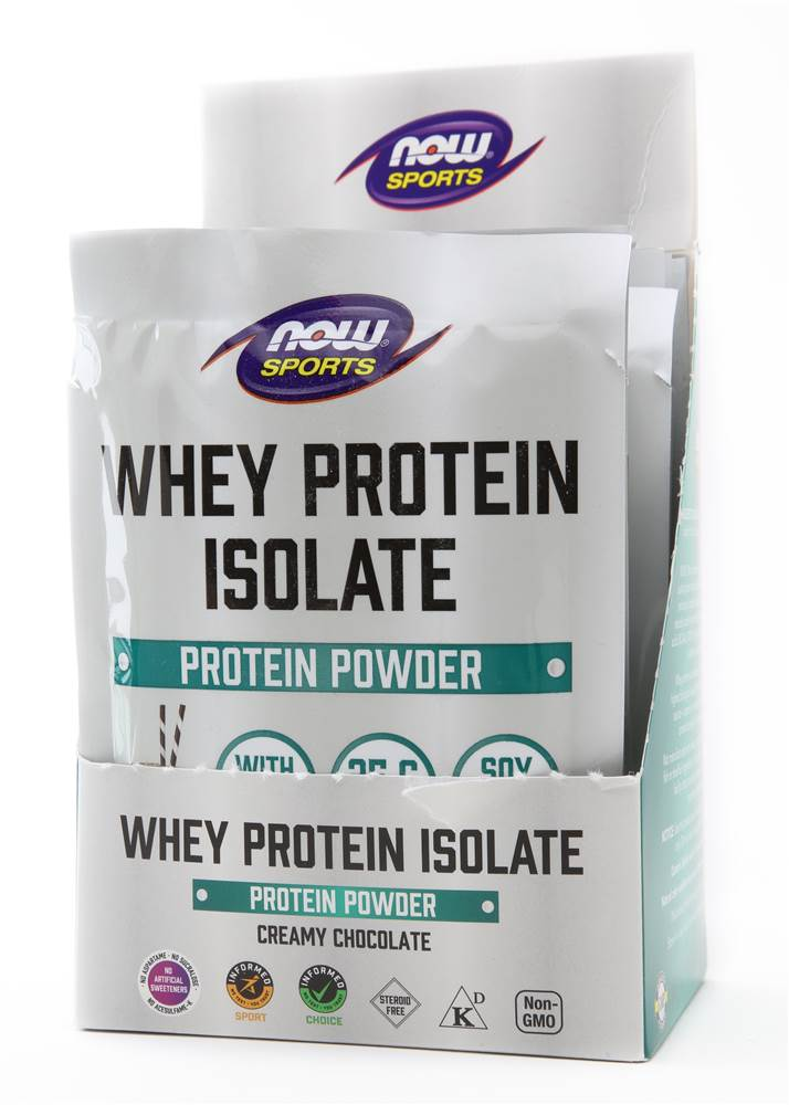 NOW Foods – Whey Protein Isolate Powder, one of the best protein shakes for muscle mass.